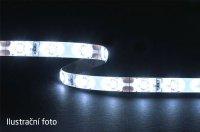 LED pásek 3528 60LED/m IP44 4.8W/m STUDENÁ, cena za 5cm, zalitý