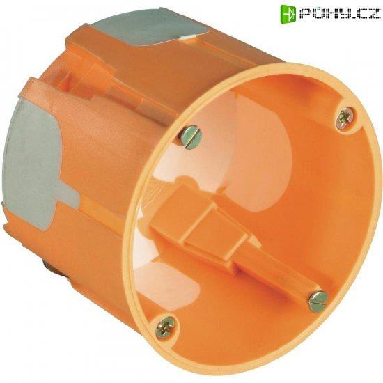 2komponentní krabice, hloubka 61 mm, oranžová, 20 ks - Kliknutím na obrázek zavřete