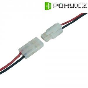 Napájecí kabel Modelcraft, Tamiya zástrčka a zásuvka, 1,5 mm², 1 pár