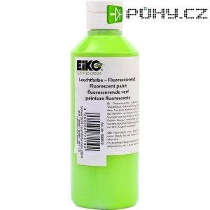 Zelená UV zářící barva Eiko 590619, 250 ml