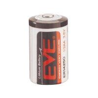 Lithiová baterie Eve, typ 1/2 AA