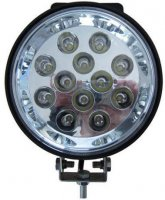 Pracovní světlo LED s hledáčkem průměr 160mm, 10-30V/36W