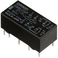 Signálové relé Omron G6AK274PSTUS5DC, G6AK-274P-ST-US 5 VDC, 220 V/DC/250 V/AC , 125 VA/60 W