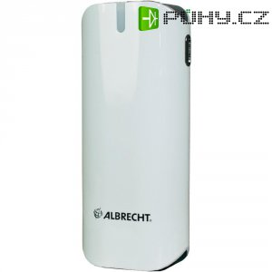 Mobilní akumulátor Powerbank Albrecht PB52, 72980, Li-Ion 5300 mAh