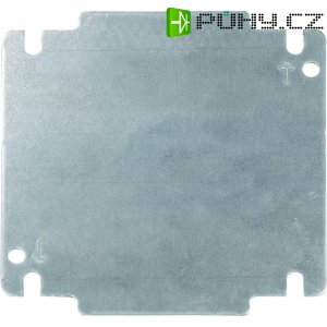 Montážní deska pro nástěnné pouzdro INLINE Schroff 32405-028, (d x š) 381 mm x 181 mm, šedá