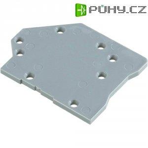 Pájecí svorkovnice WAGO 745-300, 6 mm², 7,5 mm, šedá