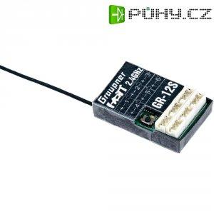 Přijímač Graupner GR-12S HoTT, 2,4 GHz FHSS, 6 kanálů, JR