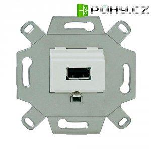 Podomítkový KM-USB Rutenbeck, bílý