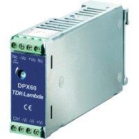 Zdroj na DIN lištu TDK-Lambda DPX-60-24S-12, 5 A, 12 V/DC