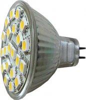 Žárovka LED MR16-21xSMD5050,bílá,12V
