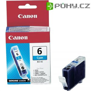 Cartridge Canon BCI-6C, 4706A002, cyanová