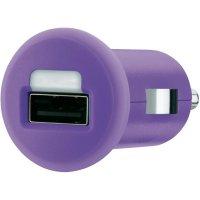 USB nabíječka do auta Belkin F8J018cwPUR, purpurová