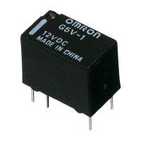 Signálové relé G5V PCB-1, 1 A ,1 přepínací kontakt Omron G5V-1 5DC, 1 A , 60 V/DC/125 V/AC , 62,5 VA/30 W