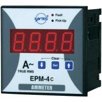 Panelový programovatelný ampérmetr Entes, EPM-4C-96, 50 mA - 10 kA