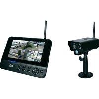 """Bezdrátová venkovní kamera s monitorem 7\"""" dnt Quattsecure Starterset, 52200, 2,4 GHz"""
