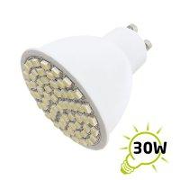 Žárovka LED GU10/230V (60SMD) 3W - bílá