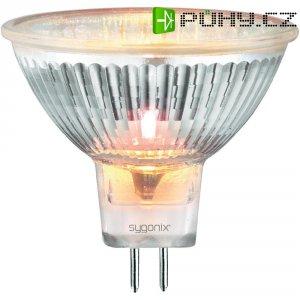 Halogenová žárovka Sygonix, 12 V, 20 W, GU5.3, Ø 46 mm, stmívatelná, teplá bílá