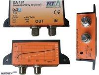 Domovní zesilovač DA181 širokopásmový, F-konektor