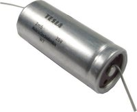2500u/25V TE675 60x25mm, elektrolyt.kondenzátor axiální