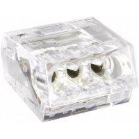 Svorka, 0,25 - 2,5 mm², 1pólová, transparentní