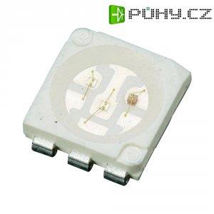 SMD LED Lumimicro, LMTP553RGB-Z Si, 20 mA, 1,9 V, 120 °, 600 mcd, RGB