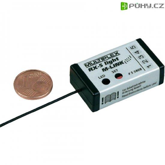 Přijímač Multiplex RX-5 Light M-Link, 2,4 GHz - Kliknutím na obrázek zavřete
