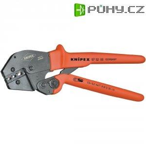 Pákové krimpovací kleště pro neizolované konektory Knipex 97 52 05, 0,5-6,0 mm²