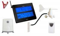Meteostanice VENTUS 928 - ULTIMATE, anenometr, srážkoměr, USB