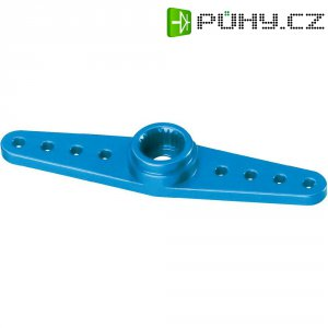 Hliníková páka serva oboustranná Reely, 45 mm, 8 otvorů, modrá