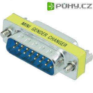 Adaptér D-SUB Amphenol, 9-pólový, zástrčka/zásuvka, G517 97009 EU