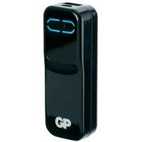 Mobilní nabíječka PowerBank GPXPB21 Black, 2000 mAh