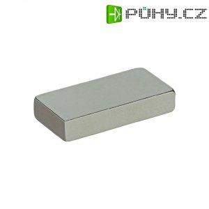 Permanentní magnet tyčový N35 1.21 T Max. pracovní teplota: 80 °C