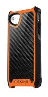 Itskins Fusion Carbon Core - iPhone 5 - černo-oranžové