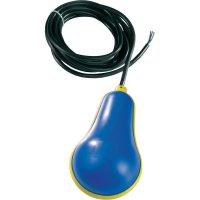 Plovákový spínač do odp. vod Wallair 1CLRLG22/20MEOP, 20 m, gumový žlutá/modrá