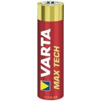 Alkalická/manganová baterie Varta Max Tech, typ AAA, sada 4 ks