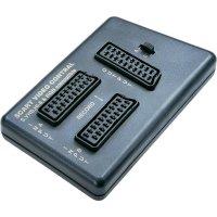 SCART videokontrolér Speaka, 2-cestný