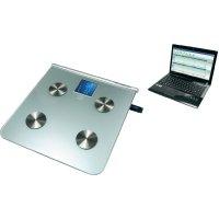Osobní váha s tělesnou analýsou a záznamem na USB flash disk ION 101153