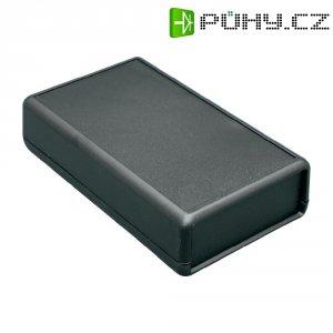 Univerzální pouzdro ABS Hammond Electronics 1593QBK, 112 x 66 x 28 mm, černá (1593QBK)