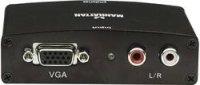 AV konvertor cinch zásuvka, VGA zásuvka ⇔ HDMI zásuvka Manhattan 177351