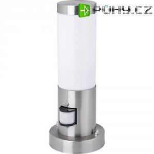 Nerezové venkovní svítidlo Zigar, 30 cm s detektorem pohybu