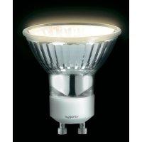 Halogenová žárovka Sygonix, 230 V, 35 W, GU10, Ø 50 mm, stmívatelná, teplá bílá