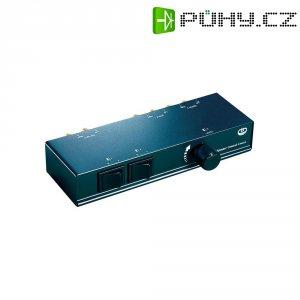 Přepínač reproduktorů SpeaKa Professional SPC-5 HQ, 2 porty, černá