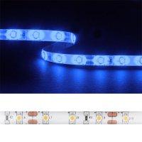 LED pásek 3528 60LED/m IP54 4.8W/m modrá (1ks=5cm) zalitý