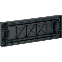 Záslepka Icotek BPK-R 16 (42006), 120 x 55 mm, černá