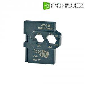 Krimpovací čelisti ke koaxiálním kabelům CATV/RG 6/RG 59 Pressmaster
