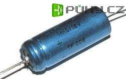 1000u/16V TF008, elektrolyt.kondenzátor axiální