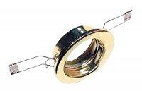 Svítidlo podhledové pevné zlaté pro žárovku 50mm MR,GU