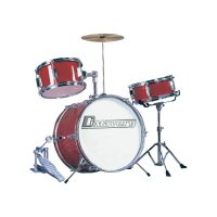 Dětská bicí souprava, červená