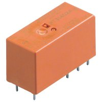 RT-výkonové relé do DPS, 8 A, 2 x přepínací kontakty 12 V/DC TE Connectivity RT424012