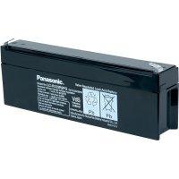 Olověný akumulátor, 12 V/2,2 Ah, Panasonic LC-R122R2PD